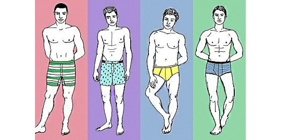 """Выбираем """"свою"""" модель мужских трусов - брифы, боксеры или транки?"""
