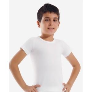 Детская футболка для мальчиков Oztas A-3011 (белый)