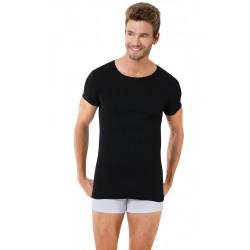 Чорна чоловіча футболка A-1059