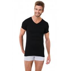 Чорна чоловіча футболка Oztas A-1061