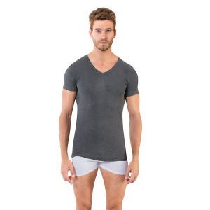 Мужская футболка с V-вырезом A-1062