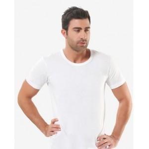 Біла чоловіча футболка Oztas A-1002