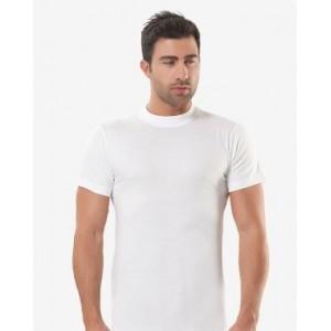 Белая мужская футболка Oztas A-1003
