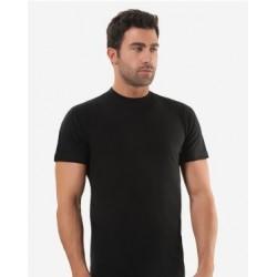 Черная мужская футболка Oztas A-1027