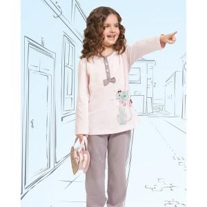 Піжама для дівчаток Oztas A-4211