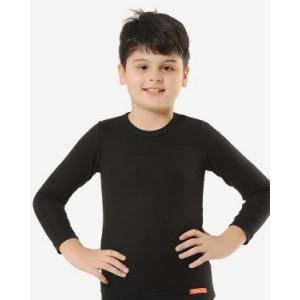 Детский термолонгслив Oztas A-3610 (серо-бежевый, темно-серый, черный)