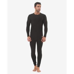 Мужской термокостюм Oztas G-1651 (темно-серый, черный)
